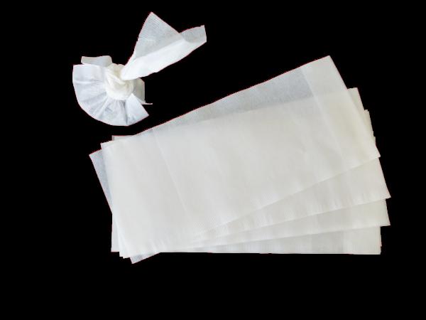 grand filtre en chanvre de manille - filtre à thé - accessoire à thé
