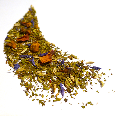 infusion tisane fenouil menthe rose