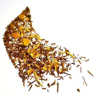 rooibos aromatisé agrumes - thé rouge - afrique du sud
