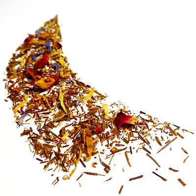 rooibos aromatisé fruits exotiques - thé rouge - afrique du sud
