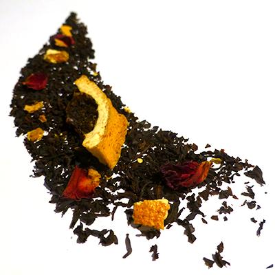 thé noir aromatisé aux agrumes - thé parfumé