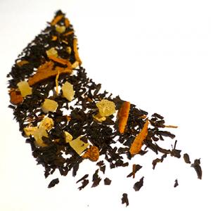 thé noir aromatisé ananas cannelle et gingembre - thé aromatisé