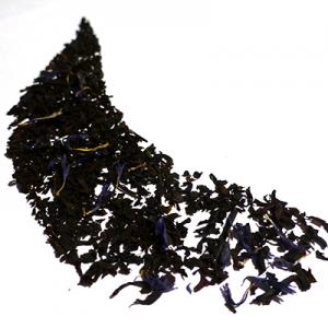 thé noir aromatisé bergamote fleurs bleues - thé parfumé earl grey