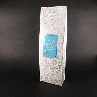thé noir aromatisé bergamote fleurs bleues - thé parfumé earl grey sachet