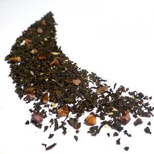 thé noir aromatisé cacao chocolat noix de coco - thé parfumé