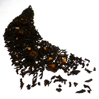 the noir aromatisé caramel praliné - thé parfumé