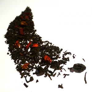 thé noir aromatisé cassis fraise - thé parfumé