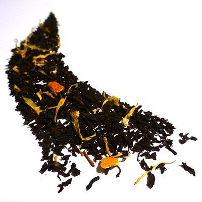thé noir aromatisé fleur d'oranger - thé parfumé