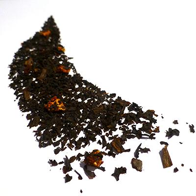thé noir aromatisé fruits rouges vanille - thé parfumé