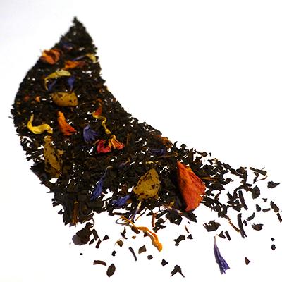 thé noir aromatisé mangue figue - thé parfumé