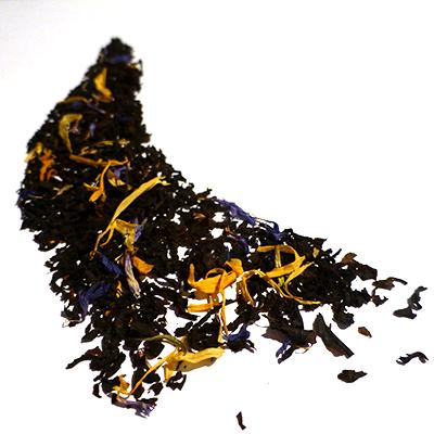 thé noir aromatisé mangue et vanille - thé parfumé