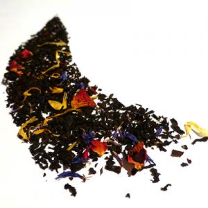 thé noir aromatisé fruits de la passion rose - thé parfumé