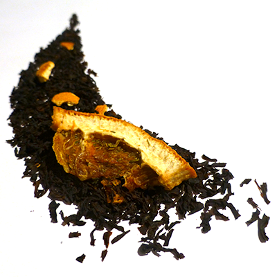 thé noir aromatisé orange cointreau douceur angevine - thé parfumé