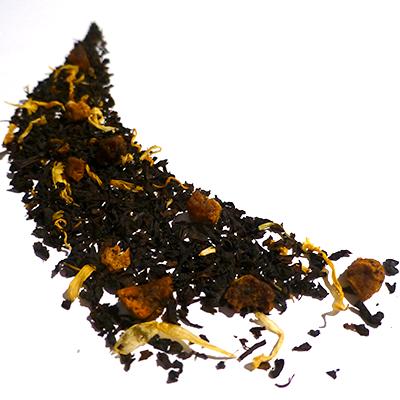 thé noir aromatisé poire et litchi - thé parfumé