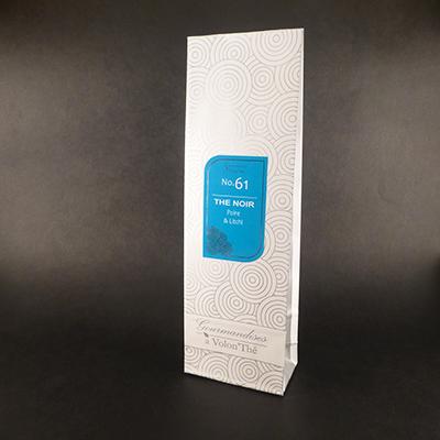 thé noir aromatisé poire et litchi - thé parfumé sachet