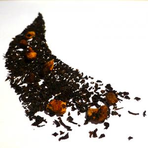 thé aromatisé pomme poire caramel - thé parfumé