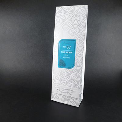 thé noir aromatisé rose et menthe - thé parfumé sachet