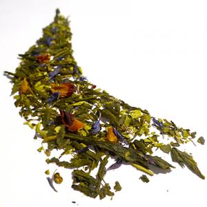 thé vert aromatisé amande et cerise - thé parfumé