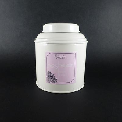 thé vert aromatisé amande et cerise - thé parfumé boîte