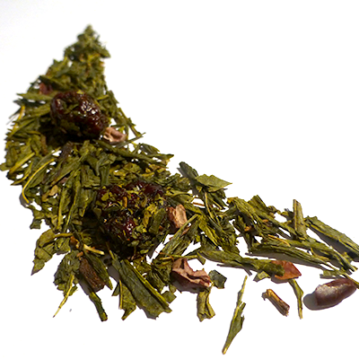 thé vert aromatisé cacao chocolat cerise - thé parfumé