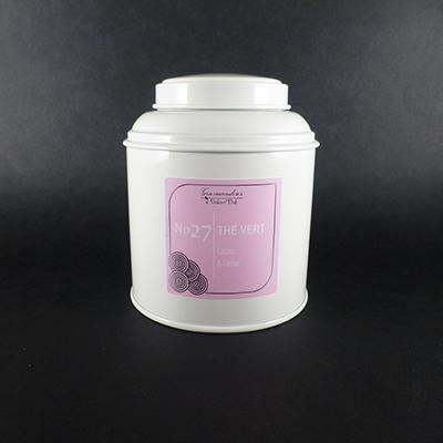 thé vert aromatisé cacao chocolat cerise - thé parfumé boîte