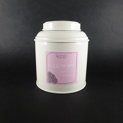 thé vert aromatisé cédrat et gingembre - thé parfumé boîte