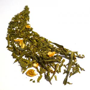 thé vert aromatisé citron vert et menthe - thé parfumé