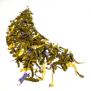 thé vert aromatisé fruits jaunes et vanille - thé parfumé
