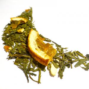 thé noir aromatisé orange et cointreau douceur angevine - thé parfumé
