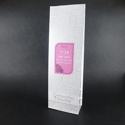 thé noir aromatisé orange et cointreau douceur angevine - thé parfumé sachet