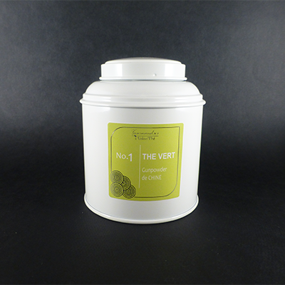 thé vert gunpowder de chine - thé vert nature boîte