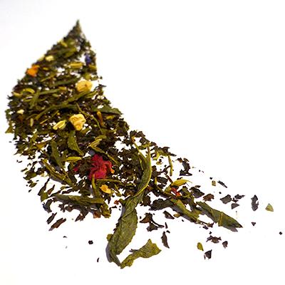 thé vert et noir aromatisé agrumes et épices - thé parfumé