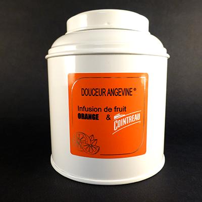 infusion tisane orange cointreau - douceur angevine-boîte