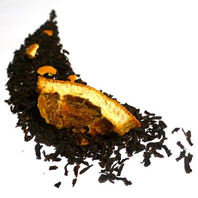 thé noir aromatisé orange cointreau-douceur angevine-thé parfumé