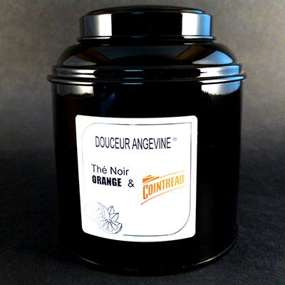 thé noir aromatisé orange cointreau boîte-thé parfumé